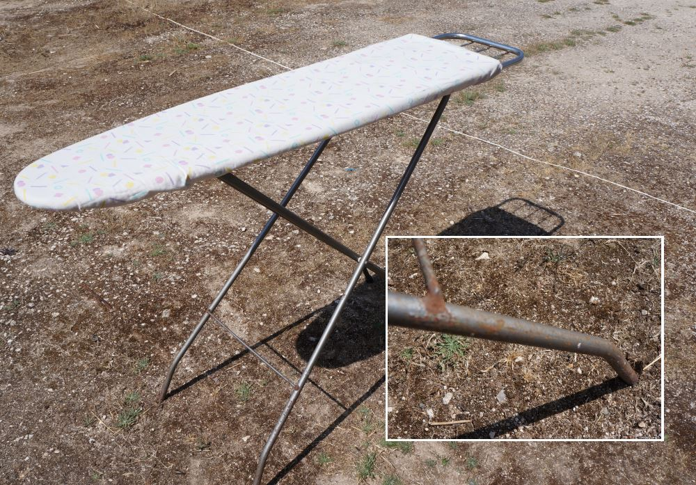 Ironing Board Before