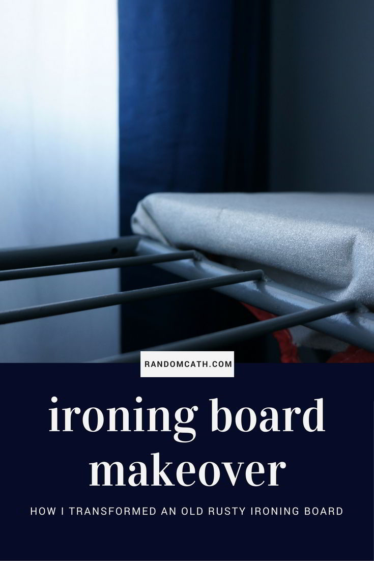 Ironing board makeover